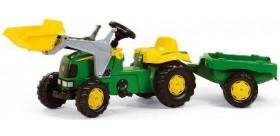 Tractor rolly john deere con pala y remolque