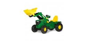 Tractor de pedales JOHN DEERE 6210 R con pala
