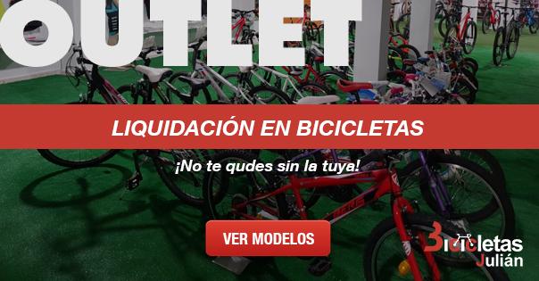 Bicicletas en liquidación
